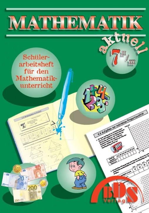 Mathematik aktuell     7/II/III (kaufmännischer Zweig)